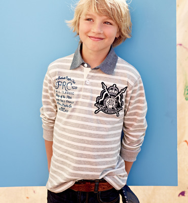 Gap Casting Call winner Liam, age 11, from Waterdown, Ontario.   (PRNewsFoto/Gap Inc.)