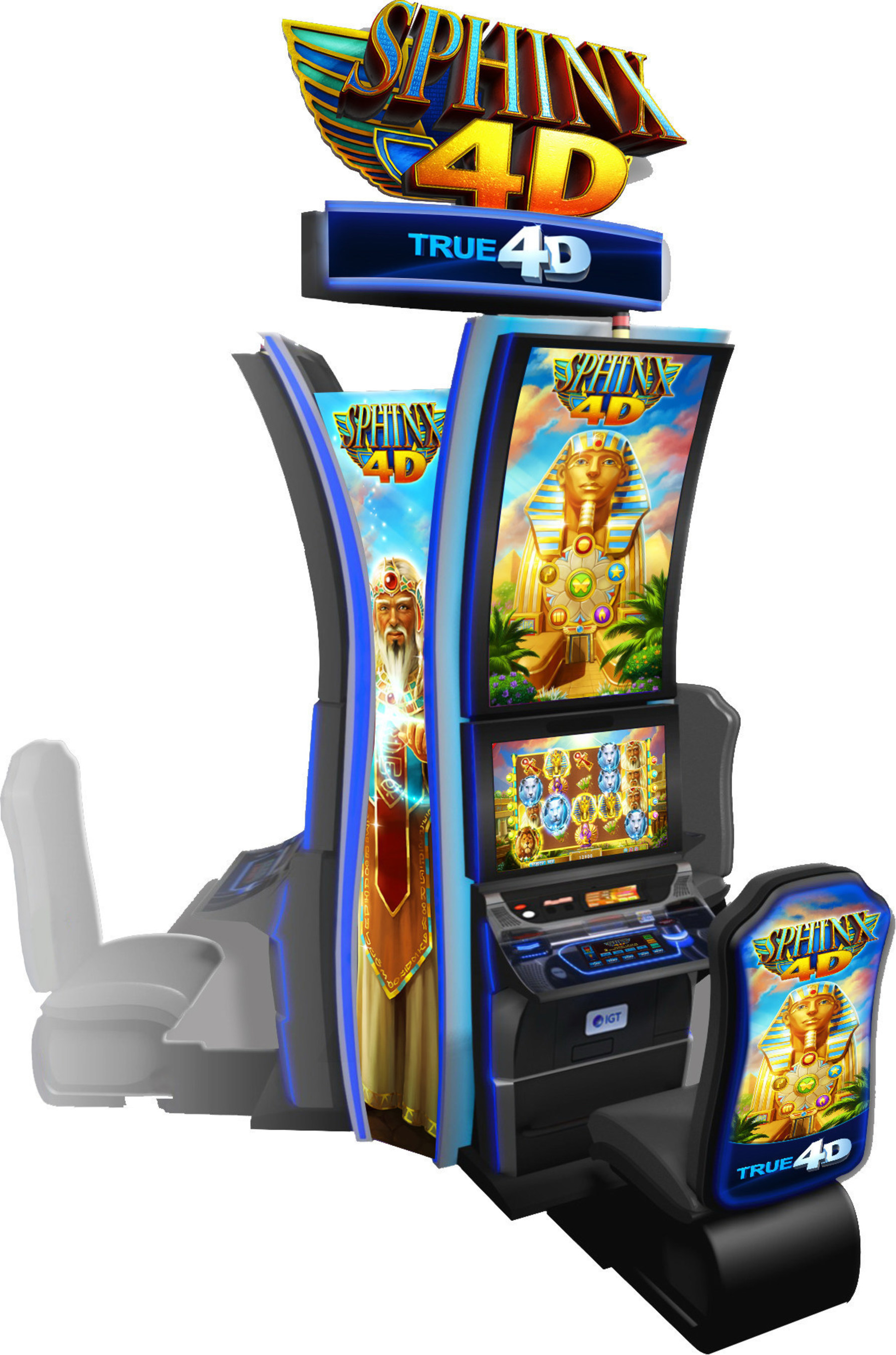 IGT Unveils Major New Innovations at G2E 2016 Including SPHINX 4D