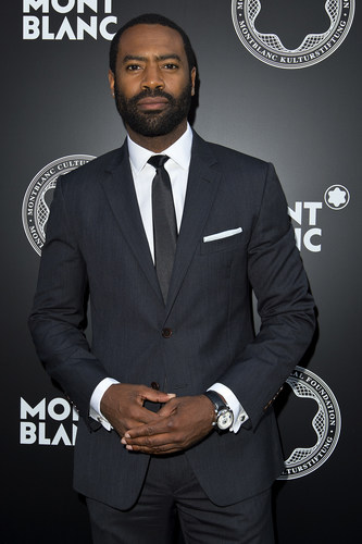 'Fortitude' star Nicholas Pinnock attends the Montblanc De La Culture Arts Patronage Award honouring Richard Reed for the Art Everywhere Project at Getty Images Gallery London on June 25, 2015 (PRNewsFoto/Montblanc) (PRNewsFoto/Montblanc)