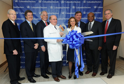 ColumbiaDoctors Midtown officially opened its doors Thursday, Jan. 24, 2013, in New York, with a ribbon cutting  ...