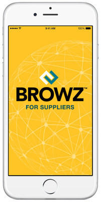 BROWZ for Suppliers is free to download and available in the Apple App Store (only available from mobile devices) and Google Play store now. Users must have an active BROWZ account to use the application.