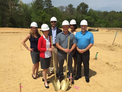 Saunders Station ground breaking