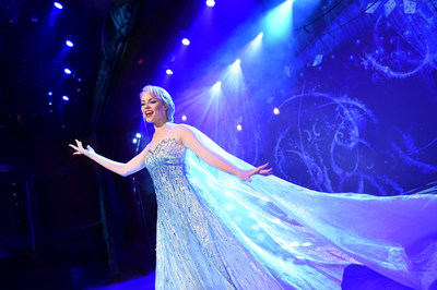 "The beloved animated hit ""Frozen"" is getting the Disney Cruise Line theatrical treatment as a full-length stage show exclusively aboard the Disney Wonder. In ""Frozen, A Musical Spectacular,"" the story will be presented like never before with an innovative combination of traditional theatrical techniques, modern technology and classic Disney whimsy. (Photo concept, David Roark)"