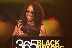 """Empress of Soul"" Gladys Knight accepts McDonald's 365Black Award August 25.  (PRNewsFoto/McDonald's USA, LLC)"