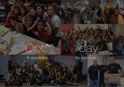 Optomi IT staffing firm celebrates its three-year anniversary by giving back to the kids of Atlanta, Chicago, Dallas, Detroit, Baltimore/DC, Anaheim and Charlotte during Opt2give day #Opt2give