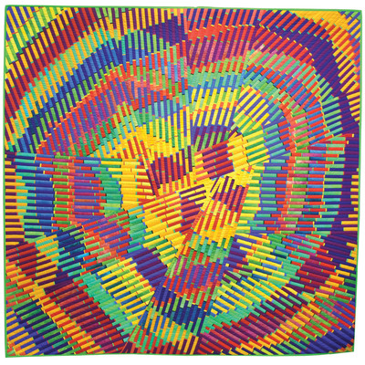 """Judith Larzelere - """"I Love Summer"""".  (PRNewsFoto/National Quilt Museum)"""