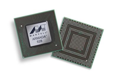 Marvell ARMADA 628: World's First 1.5 GHz Tri-Core Processor.  (PRNewsFoto/Marvell)