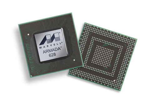 Marvell ARMADA 628: World's First 1.5 GHz Tri-Core Processor.  (PRNewsFoto/Marvell)