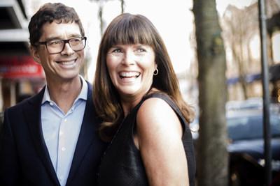 Saje Natural Wellness co-founders Jean-Pierre LeBlanc and Kate Ross LeBlanc
