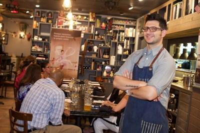Milk life Somos Fuertes Strength Ambassador, Chef Giorgio Rapicavoli