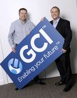Wayne Martin, GCI's CEO and John Whitty, GCI's Managing Director – showcasing the new corporate identity to mark the launch of the new look GCI, one of the fastest growing, privately owned Information and Communications Technology providers in the UK.Wayne merged Global Communications Integrators and Pathfinder Telecom in 2005. It was the beginning of his mission to create a unique experience of combined telecoms, networks, hosting and IT support to meet the demands of today's corporate world. This one stop solution offers customers ease, consistency and importantly efficiency benefits of working with one business across all aspects of communications.