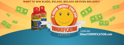 """Entrants to 5-hour ENERGY(R)'s """"Yummification"""" contest can win a share of $100,000 for creating a video of their favorite way to mix a 5-hour ENERGY(R) with an everyday beverage. (PRNewsFoto/5-hour ENERGY)"""