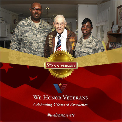 The National Hospice and Palliative Care Organization's We Honor Veterans is celebrating its five year anniversary.