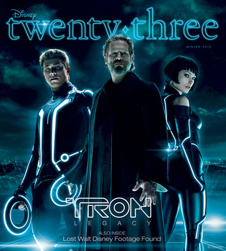 Winter Issue of Disney twenty-three Gets Inside the Game Grid for an Exclusive Sneak Peek at TRON: