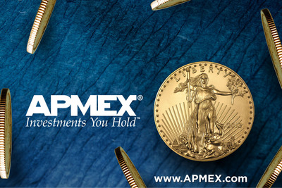 A leading retailer of Gold, Silver, Platinum and Palladium, APMEX offers unparalleled customer service on more than 5,000 products, all with transparent pricing, including real time spot price updates and alerts. Visit www.APMEX.com to see why our customers have given us a 98% satisfaction rating.  (PRNewsFoto/APMEX, Inc.)