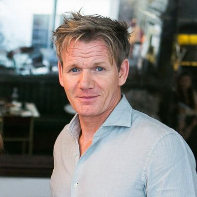 Chef, TV personality and restaurateur, Gordon Ramsay. Accredited to Piers Macdonald.
