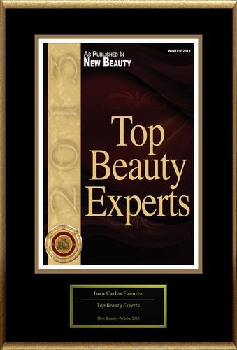 "Juan Carlos Fuentes Selected For ""Top Beauty Experts.""  (PRNewsFoto/American Registry)"