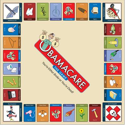 Obamacare -- The Game Board. (PRNewsFoto/Obamacare -- The Game) (PRNewsFoto/OBAMACARE -- THE GAME)