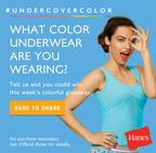 Hanes Invites Women To Join Candid Color-Filled Intimates Conversation