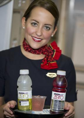 AirTran Airways Adds vitaminwater zero™ to Onboard Beverage Lineup