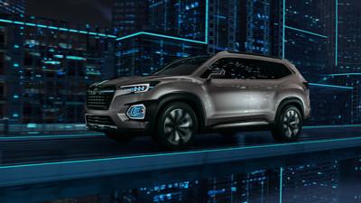 Subaru VIZIV 7 SUV Concept Debut at Los Angeles Auto Show