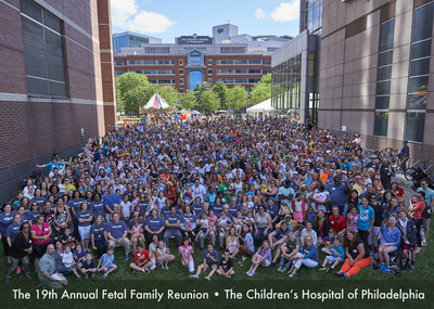 The Children's Hospital of Philadelphia's 19th Annual Fetal Surgery Family Reunion Gathers Families from Across the U.S.