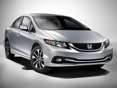 The 2013 Honda Civic Sedan.  (PRNewsFoto/American Honda Motor Co., Inc.)