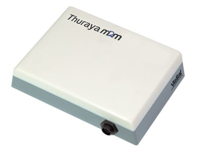 ThurayaFT2225 M2M Terminal - Connecting people, assets and businesses, the new ThurayaFT2225 is a rugged M2M terminal built to withstand harsh weather conditions in remote unmanned areas. With Ethernet and Wi-Fi interface options, integration into new M2M applications is simple and time efficient. (PRNewsFoto/Thuraya Satellite) (PRNewsFoto/Thuraya Satellite)