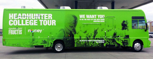 VICE's Music Channel, Noisey, and Garnier Fructis Launch Style Stage Headhunter College Tour