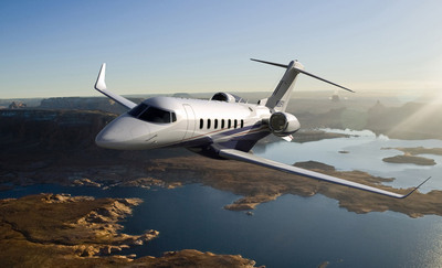 Flexjet is launching its Learjet 85 aircraft fractional jet ownership sales program as Bombardier's exclusive first customer. Set to revolutionize the industry, the all new Learjet 85 aircraft, with both fuselage and wing built primarily from carbon composites, features the latest advances in aerodynamics, structures and efficiency.  (PRNewsFoto/Flexjet, Paul Bowen)