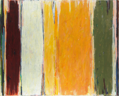 JOHN OPPER (1908-1994), Untitled (88E), 1968, Acrylic on canvas, 48 x 44 inches