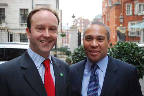Massachusetts Governor Deval Patrick and Zipcar's VP of European Development Meet on Expansion and