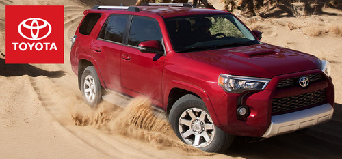 Truro Toyota is home to several four-wheel drive Toyota vehicles.  (PRNewsFoto/Truro Toyota)