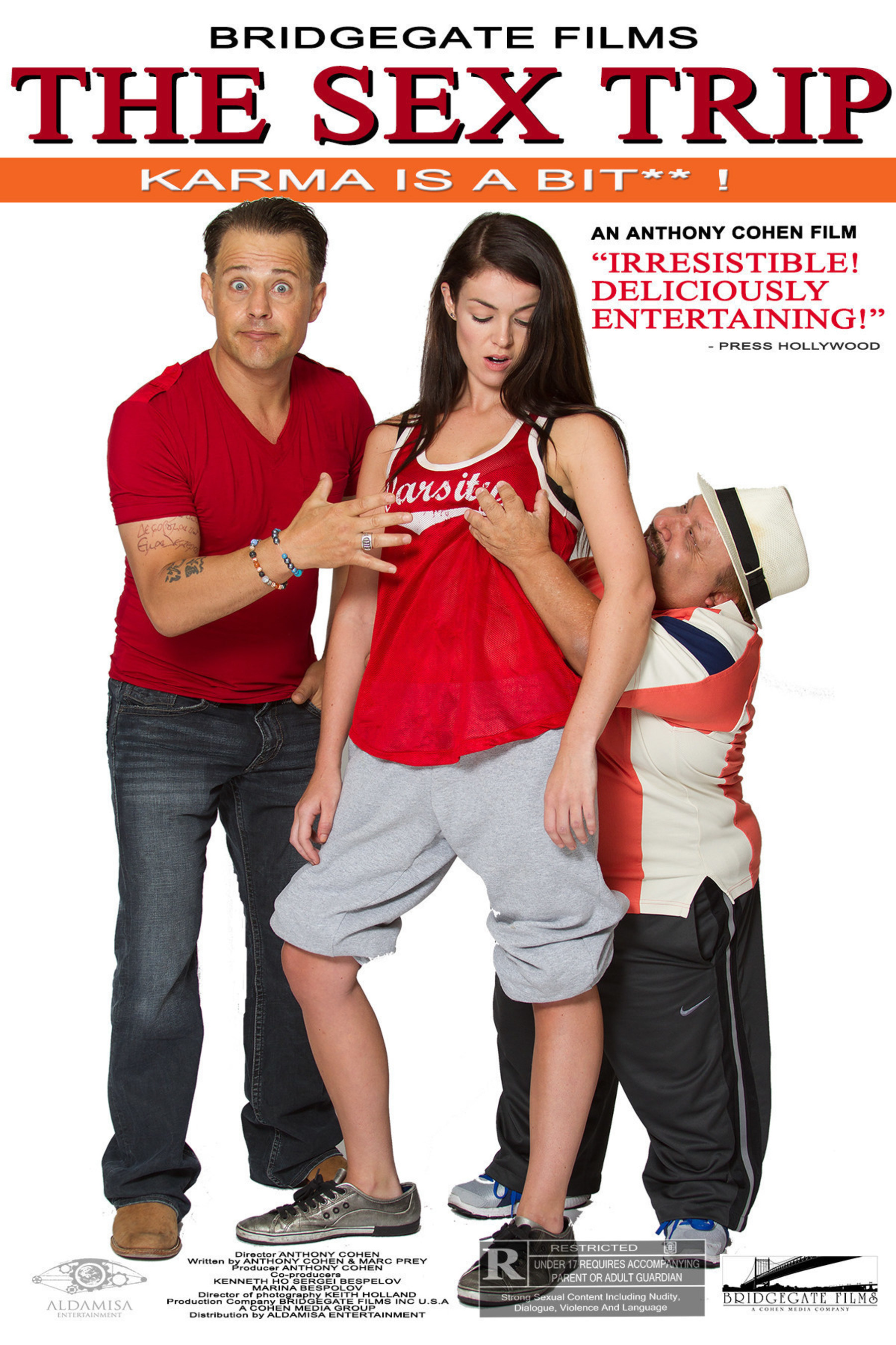 STALLONE, HANKS, Co-Star in this Hollywood's new romantic comedy film 'The Sex Trip', also Co-staring Chuy Bravo, Louis Mandylor, Jade Ramsey, Charlotte Price and Marc