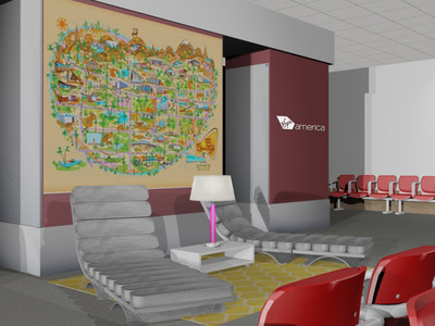 Virgin America Lets Modernism Fly