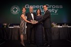 CB&I receives the Green Cross for Safety medal. Pictured left to right: Constance Bayne, NSC Board Member and Trustee Chair; Philip Asherman, CB&I president and CEO; Deborah A.P. Hersman, NSC president and CEO; and Jeff Woodbury, NSC Board Chairman