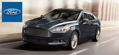 The 2014 Ford Fusion has arrived at Broadway Automotive in Green Bay.  (PRNewsFoto/Broadway Automotive)
