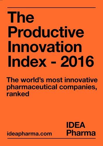 The Productive Innovation Index - 2016 (PRNewsFoto/IDEA Pharma) (PRNewsFoto/IDEA Pharma)