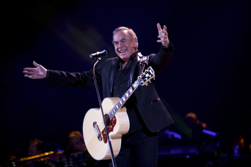 "Grammy and Golden Globe Award-winning musician and songwriter Neil Diamond will be nationally debuting ""Freedom Song (They'll Never Take Us Down),"" on the 33rd annual broadcast of A CAPITOL FOURTH airing on PBS Thursday, July 4, 2013 from 8:00 to 9:30 p.m. ET.  (PRNewsFoto/Capital Concerts)"