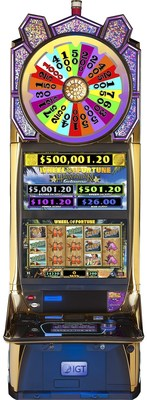 The IGT Wheel of Fortune Hawaiian Getaway slot game
