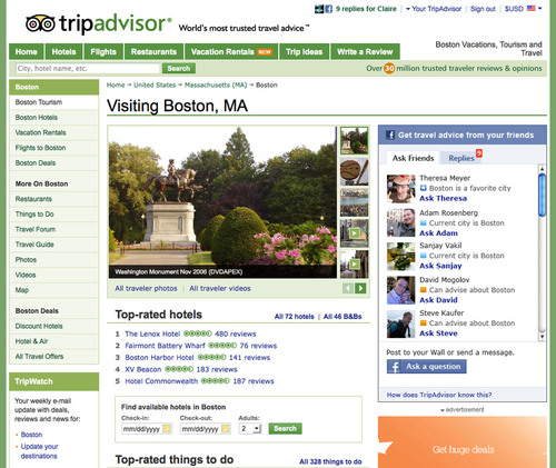 TripAdvisor, the World's Largest Travel Site, Launches Game-Changing 'TripAdvisor Trip Friends'