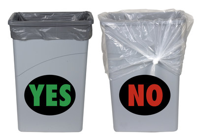 When the wrong size can liner is used for slim style trash cans, up to 44 percent of the raw material used to produce the can liner is wasted. Pitt Plastic's Pitt Fit can liners provide solutions. Pitt Plastics is an Inteplast Group Company.