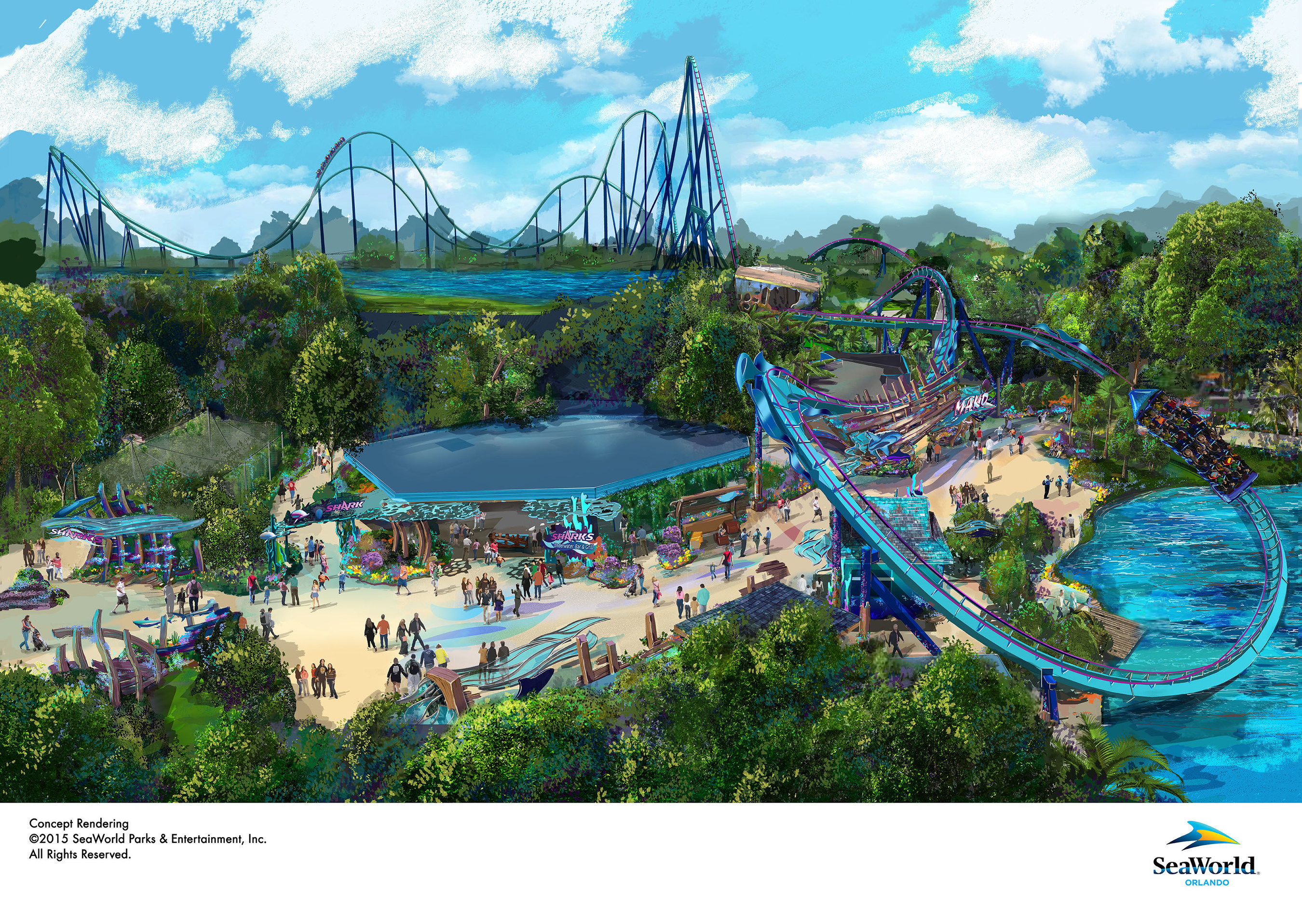 SeaWorld Entertainment, Inc. Announces Big Thrills Coming in 2016 to Two Florida Theme Parks
