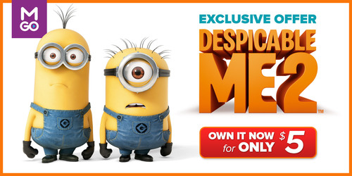 Despicable Me 2 For Just $5: M-GO Changes The Despicably Stressful Holiday Time To The Most Delightful With An ...