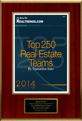 "Brian Weast Selected For ""America's Best Real Estate Agents: Top Teams In Texas"" (PRNewsFoto/American Registry)"