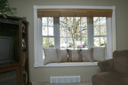 This Simonton bay window replaces an original wood window in a 1955 Michigan home that had lead paint on the exterior.  (PRNewsFoto/Simonton Windows)
