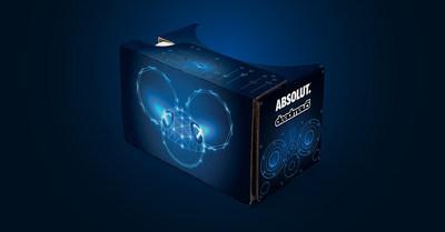 Absolut deadmau5 Limited Edition Cardboard Headset