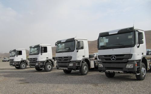 Major Order for Mercedes-Benz Trucks: Delivery of 250 Mercedes-Benz Actros to Iraq