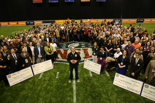 To celebrate Super Bowl XLVII, Brees Dream Foundation and Companies With A Mission donated $1,000,000 to New ...