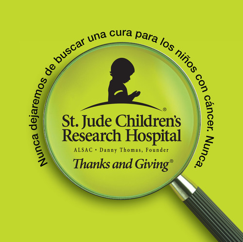 St. Jude Children's Research Hospital® Asks Shoppers to 'Give Thanks' and Give Back to Children